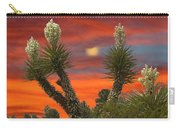 Yucca Blooming Sunset-moonset Carry-all Pouch