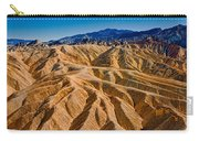 Zabriskie Point Badlands Carry-all Pouch