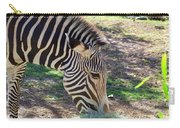 Zebra At Lunch Carry-all Pouch