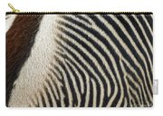 Zebra Caboose Carry-all Pouch