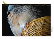 Zebra Dove From Above Carry-all Pouch