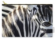 Zebra Face  Carry-all Pouch
