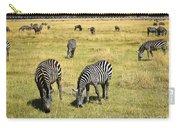 Zebra Grub Carry-all Pouch