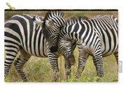 Zebra Hug Carry-all Pouch