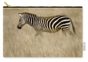 Zebra In Grasses 2 Carry-all Pouch