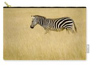 Zebra In Grasses Carry-all Pouch