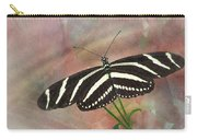 Zebra Longwing Butterfly-3 Carry-all Pouch