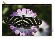 Zebra Longwings Carry-all Pouch