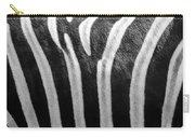 Zebra Print Carry-all Pouch