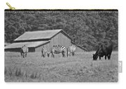 Zebras In San Simeon Carry-all Pouch