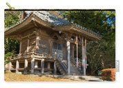 Zen Building In A Garden At A Sunny Morning Carry-all Pouch
