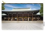 Zen Temple Under Blue Sky  Carry-all Pouch