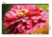 Zinnia Blast Carry-all Pouch