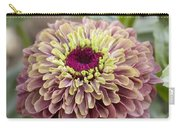 Zinnia Elegans Queen Red Lime Variety Carry-all Pouch