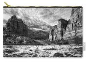 Zion Canyon - Bw Carry-all Pouch