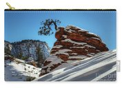 Zion National Park In Winter Carry-all Pouch