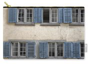 Zurich Window Shutters Carry-all Pouch