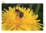 A Bee In A Dandelion Carry-all Pouch