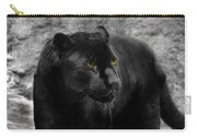 Black Leopard Carry-all Pouch