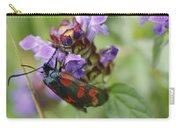 Burnet Moth Carry-all Pouch