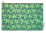 Cannabis   Hemp  420   Marijuana  Pattern Carry-all Pouch
