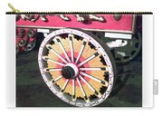 Circus Wagon Wheel Carry-all Pouch
