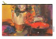 Clarice Cliff Rose Table  Carry-all Pouch