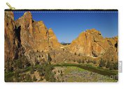 Crooked River At Smith Rock State Park Oregon  Carry-all Pouch