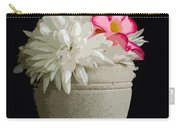 Desert Rose   Chrysanthemum And Adenium Obesum Carry-all Pouch