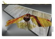 Eastern Amber Dragonfly 3d Carry-all Pouch