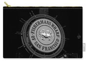 Fisherman's Wharf San Francisco-horizontal In Bw Carry-all Pouch
