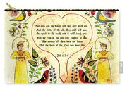 Fraktur-ask The Beasts Carry-all Pouch