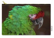 Great Green Macaw Ara Ambiguus Carry-all Pouch