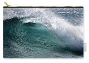 Green Cresting Wave, Hawaii Carry-all Pouch