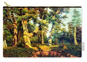 Green Summer-the Oak Forest Carry-all Pouch