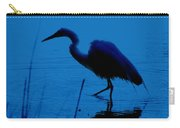 Heron In Water Carry-all Pouch