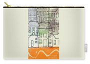 Houses By The River Carry-all Pouch by Linda Woods