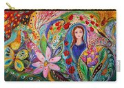 Leah And Flower Of Mandragora Carry-all Pouch