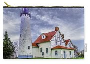 Lighthouse At Point Iroquois Carry-all Pouch