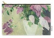 Lilacs Carry-all Pouch by Glyn Warren Philpot