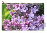 Lilacs On A Misty Morning Carry-all Pouch