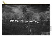Line Of Cows Carry-all Pouch