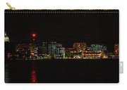 Madison Wi Skyline At Night Carry-all Pouch