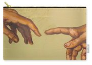 Michelangelos Creation Of Adam 1510 Carry-all Pouch