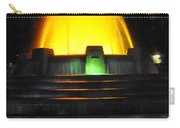 Mulholland Fountain Reflection Carry-all Pouch by Clayton Bruster