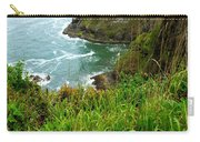 Oregon's Seaside Cliffs In Springtime Carry-all Pouch
