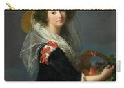 Portrait Of Marie Gabrielle De Gramont, Duchesse De Caderousse Carry-all Pouch