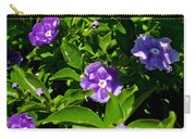 Purple Flowers In Pilgrim Place In Claremont-california Carry-all Pouch