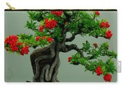 Red Berried Bonsai Carry-all Pouch