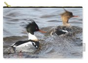Red-breasted-merganser-ducks Carry-all Pouch